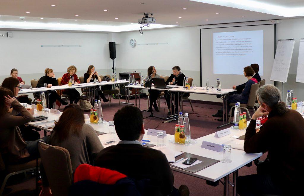 Panel der Veranstaltung im Münchner Hotel Dolomit